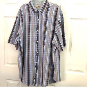 Timberland Mens Plaid Shirt Size 3XL